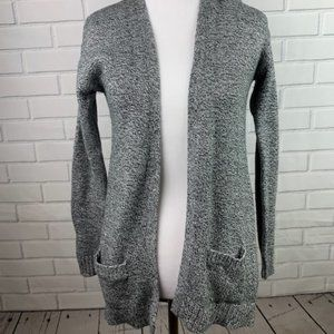 Old Navy Girl's Gray Sweater Cardigan Size Large